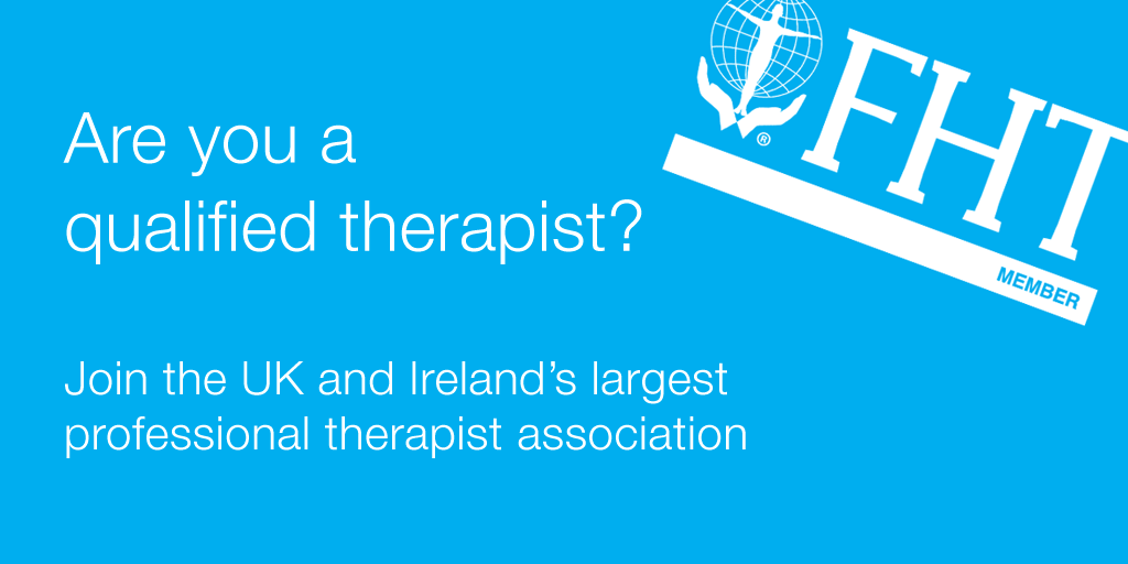 Federation of Holistic Therapists (FHT) - qualified therapist