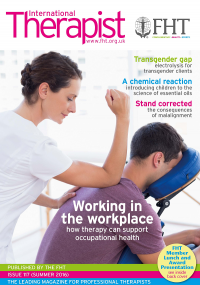 Federation of Holistic Therapists (FHT) - International Therapist (Winter 2015)