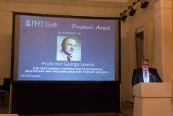 Honouring the late Professor George Lewith