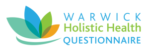 Pictured: Warwick Holistic Health Questionnaire